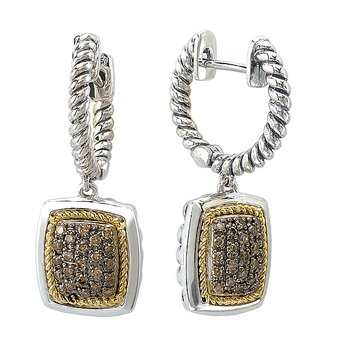 Ladies Fashion Diamonds Earrings