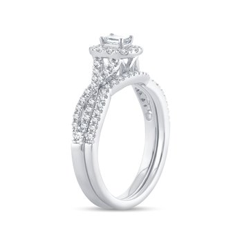 14K 0.75Ct Diamond Bridal  Ring