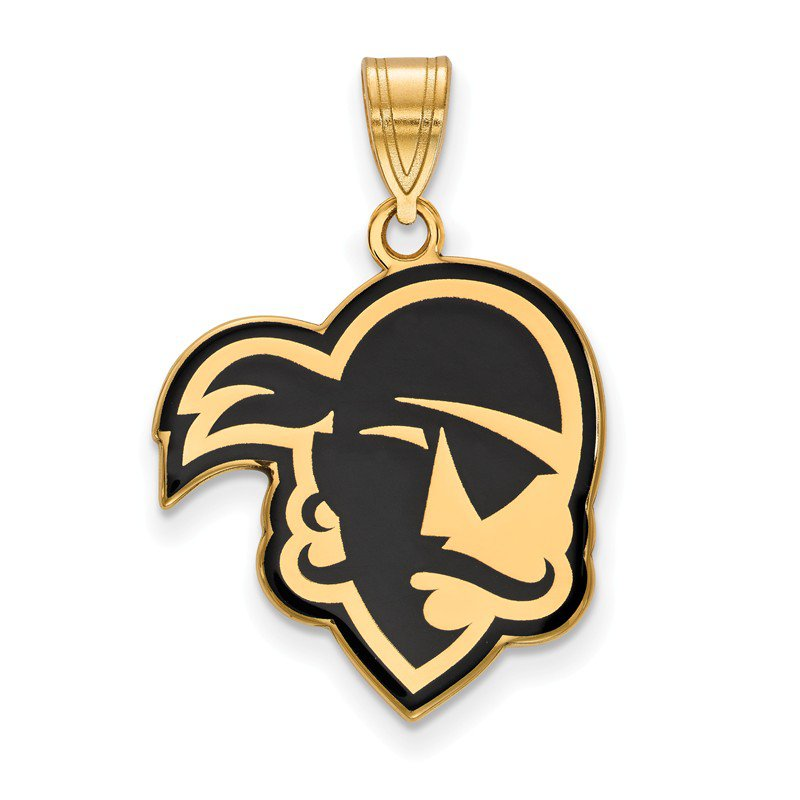 NCAA Gold-Plated Sterling Silver Seton Hall University NCAA Pendant