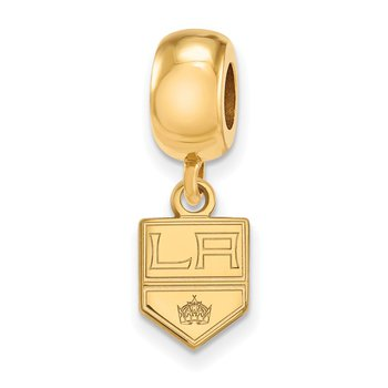 Gold-Plated Sterling Silver Los Angeles Kings NHL Bead