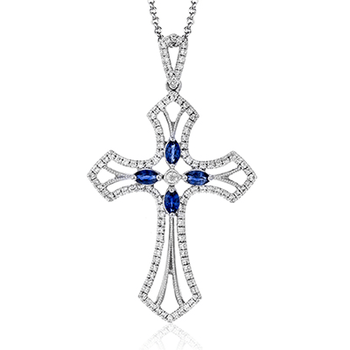 NP211 CROSS PENDANT