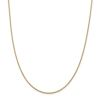 Leslie's 14K 1.8 mm Round Cable Chain