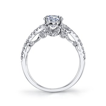 MARS 26129 Diamond Engagement Ring, 0.39 Ctw.