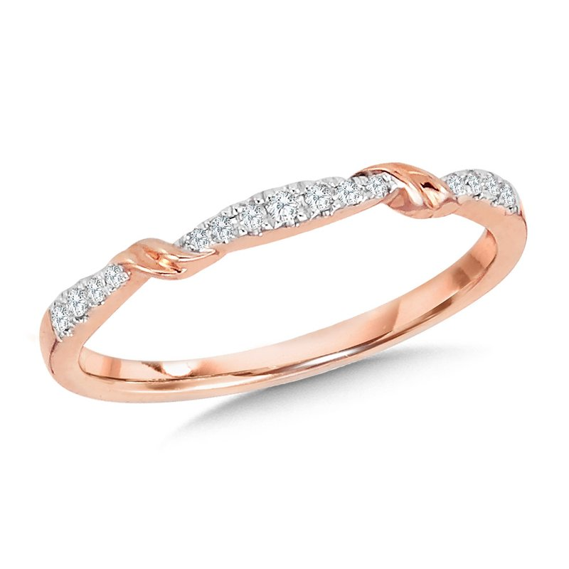 SDC Creations 10K Diamond Stackable Band
