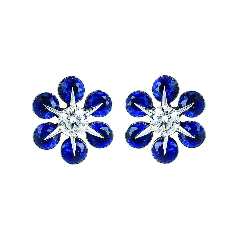 Ostbye Earrings Rd V 0.18 Sa 0.68