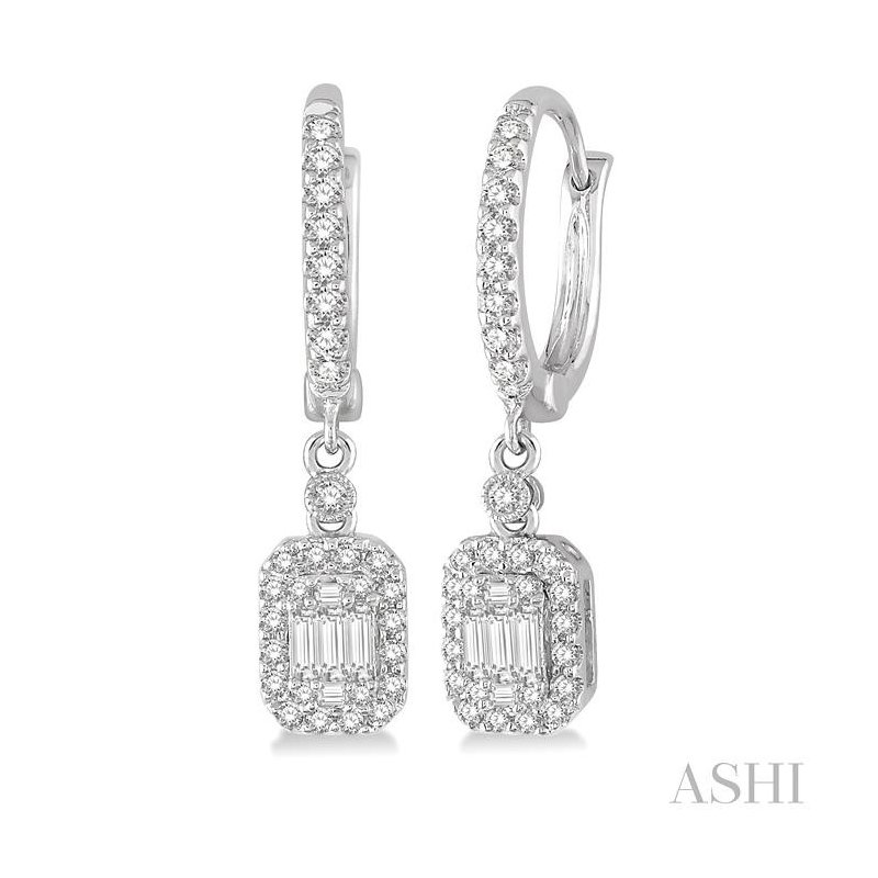 Crocker's Collection fusion diamond earrings