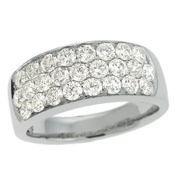 White Gold Bridal Ring