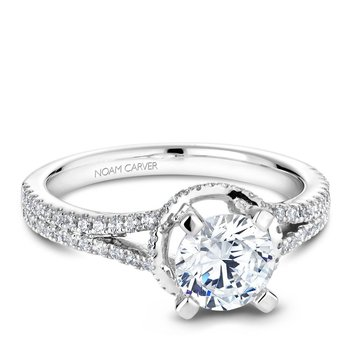 Noam Carver Regal Engagement Ring B088-01A