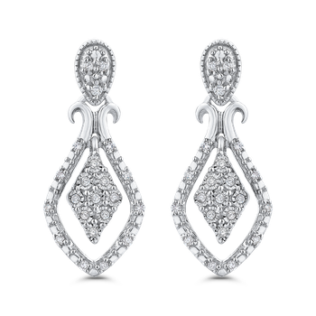 0.14 Ct Diamond Fashion Earrings