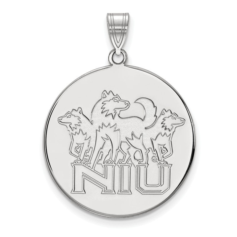 NCAA Sterling Silver Northern Illinois University NCAA Pendant