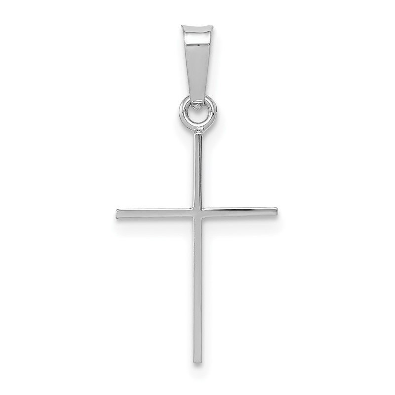 Fine Jewelry by JBD 14k White Gold Cross Charm