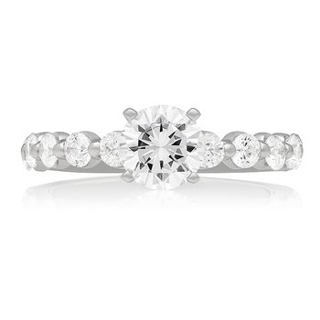 CLASSIC SINGLE PRONG SOLITAIRE RING
