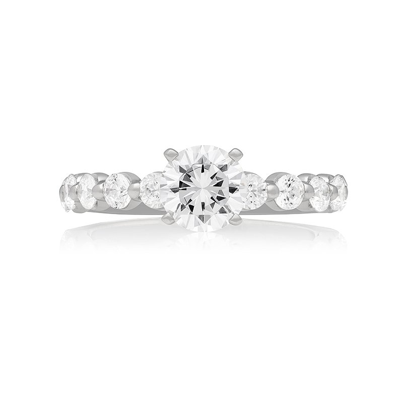 Veer CLASSIC SINGLE PRONG SOLITAIRE RING