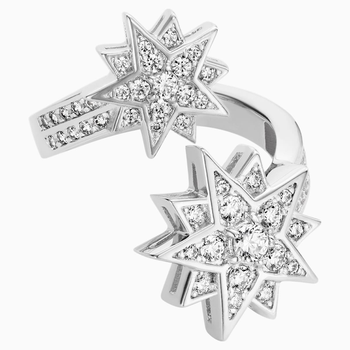 Penélope Cruz Moonsun Ring, Limited Edition, White, Rhodium plated