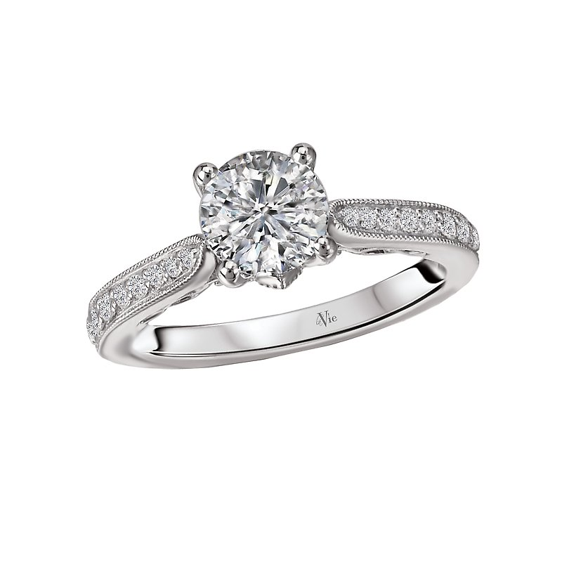 LaVie Classic Semi Mount Diamond Ring