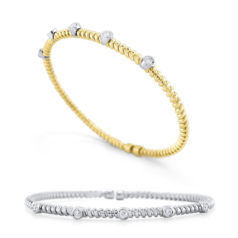 KC Designs 14K Gold and Diamond Bracelet
