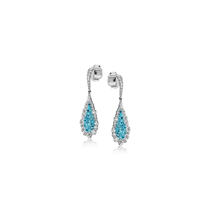 Simon G LE4030 COLOR EARRING