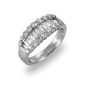 14K WG Diamond Wedding/Anniversary Band