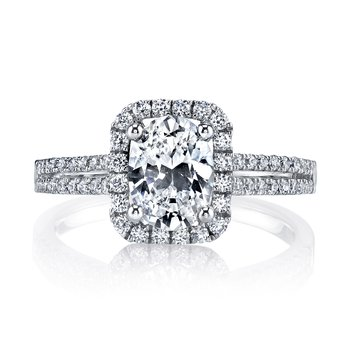 25152 Diamond Engagament Ring 0.41 ct tw