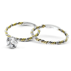 Simon G LR2633 WEDDING SET
