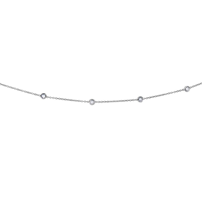 Royal Chain 14K Gold 1.0ct Diamonds by the Yard Necklace