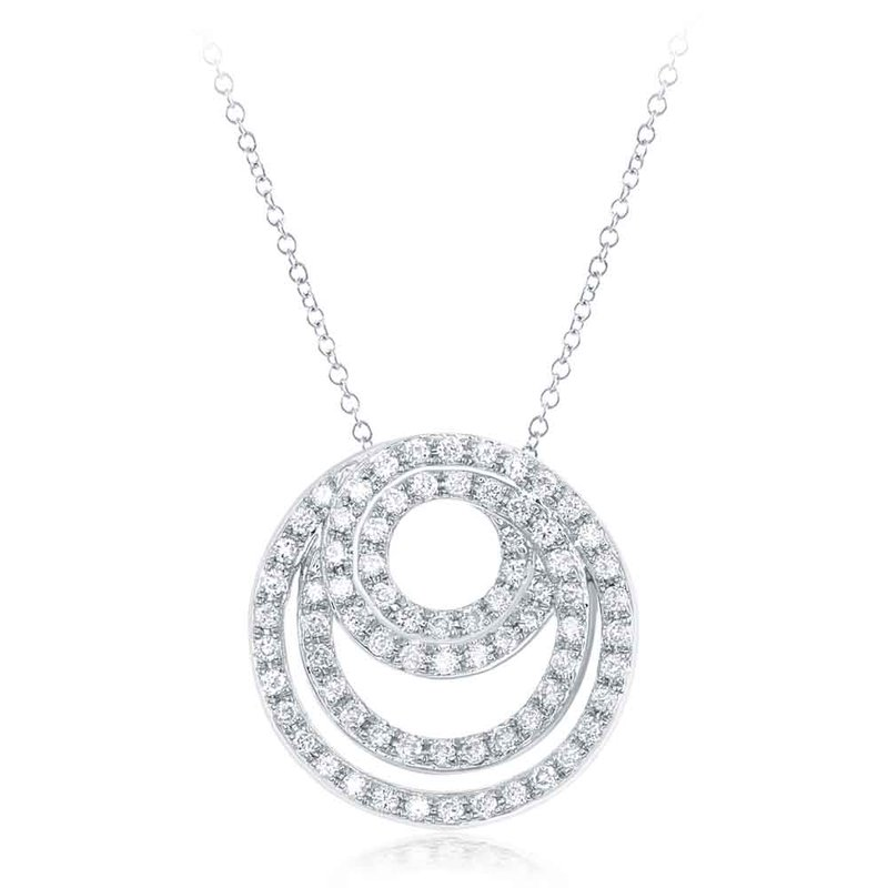 S. Kashi  & Sons White Gold Diamond Pendant