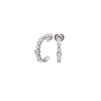 Cento Frizzante Hoop Earrings