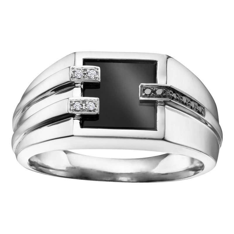 Timeless Beauty Onyx Gents Ring