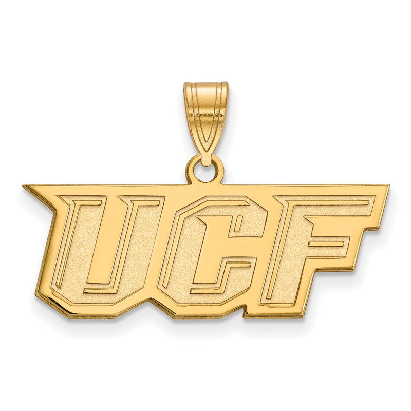 NCAA Gold-Plated Sterling Silver University of Central Florida NCAA Pendant