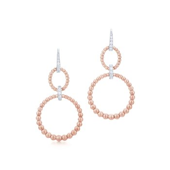 Kwiat Adorn Diamond Hoops