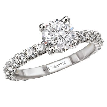 Eternity Semi-Mount Diamond Ring