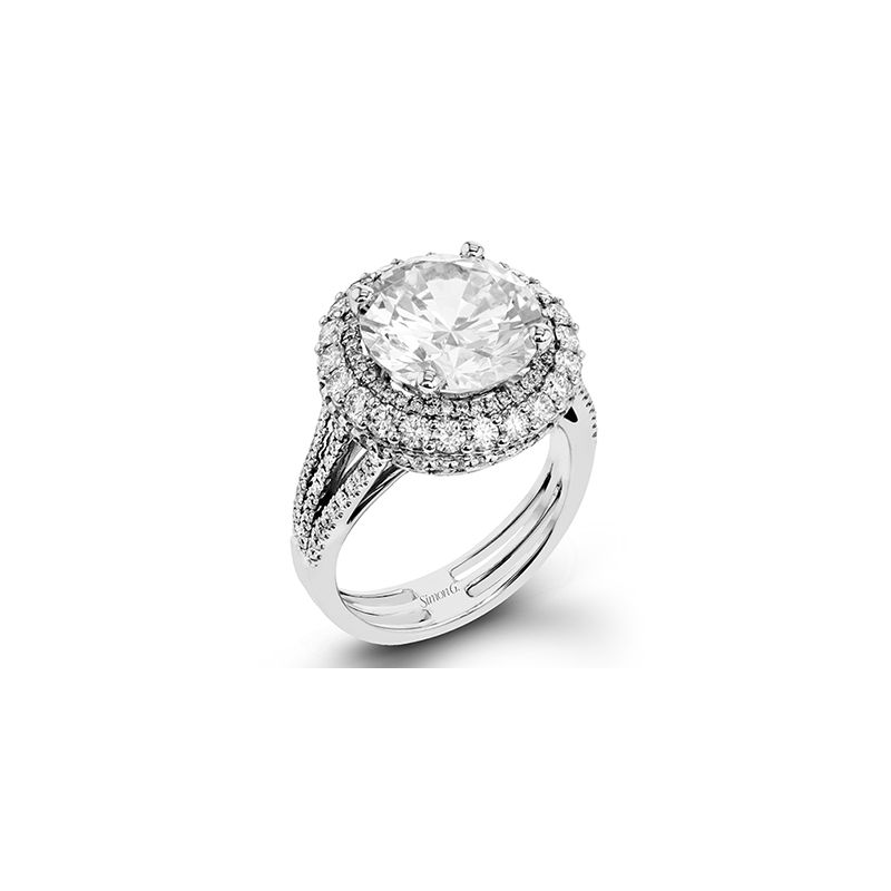 Simon G MR2641 ENGAGEMENT RING