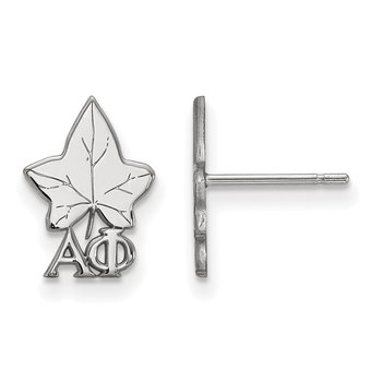 Sterling Silver Alpha Phi Greek Life Earrings