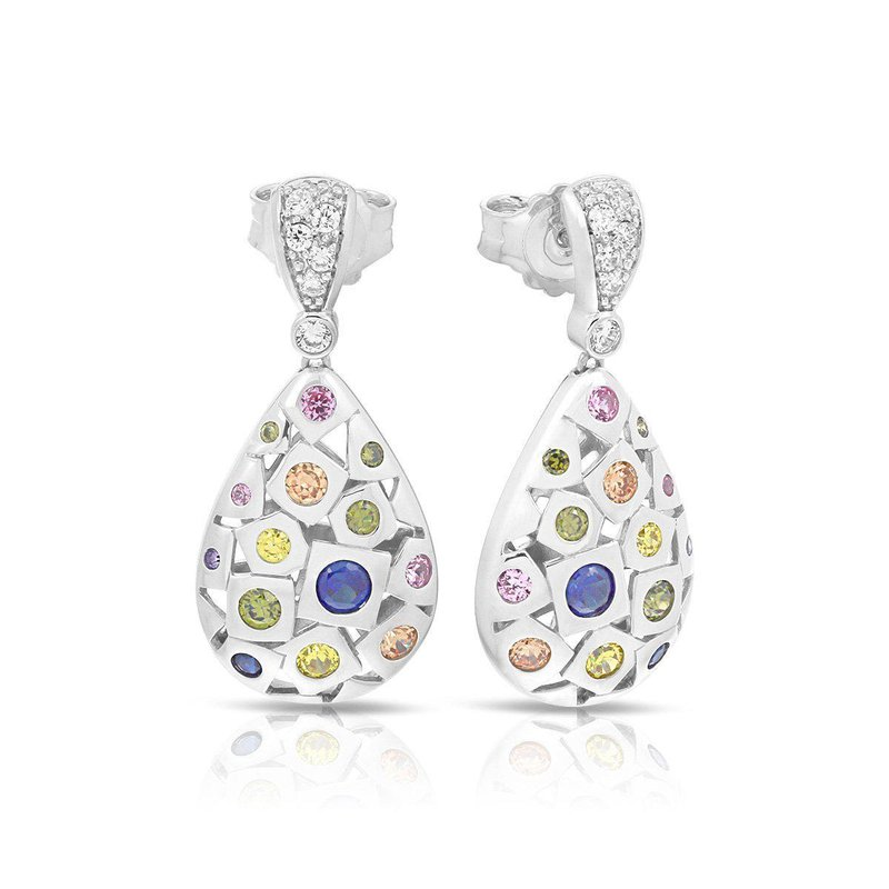 Belle Etoile Byzantine Earrings