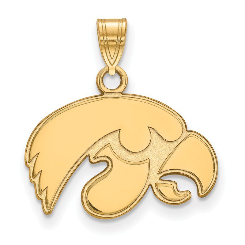NCAA Gold University of Iowa NCAA Pendant
