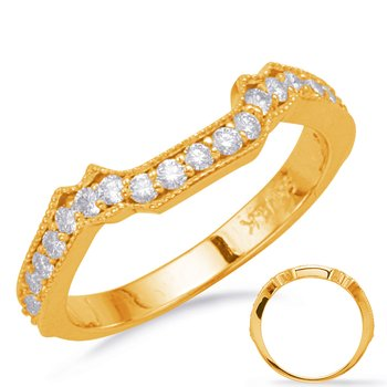 Yellow Gold Matching Wedding Band