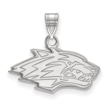 Sterling Silver University of New Mexico NCAA Pendant
