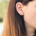 Crocker's Collection lovebright essential diamond earrings