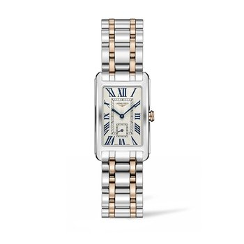 Longines Dolcevita 23mm Stainless Steel/Gold 18k