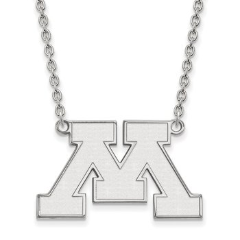 Gold University of Minnesota NCAA Necklace