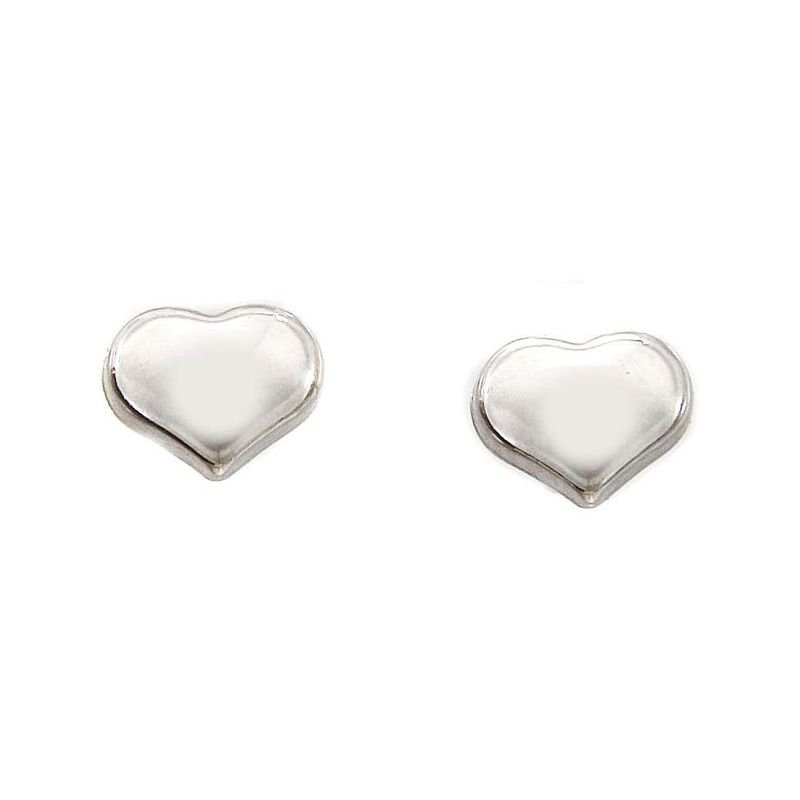 Roberto Coin 18Kt Gold Heart Earrings
