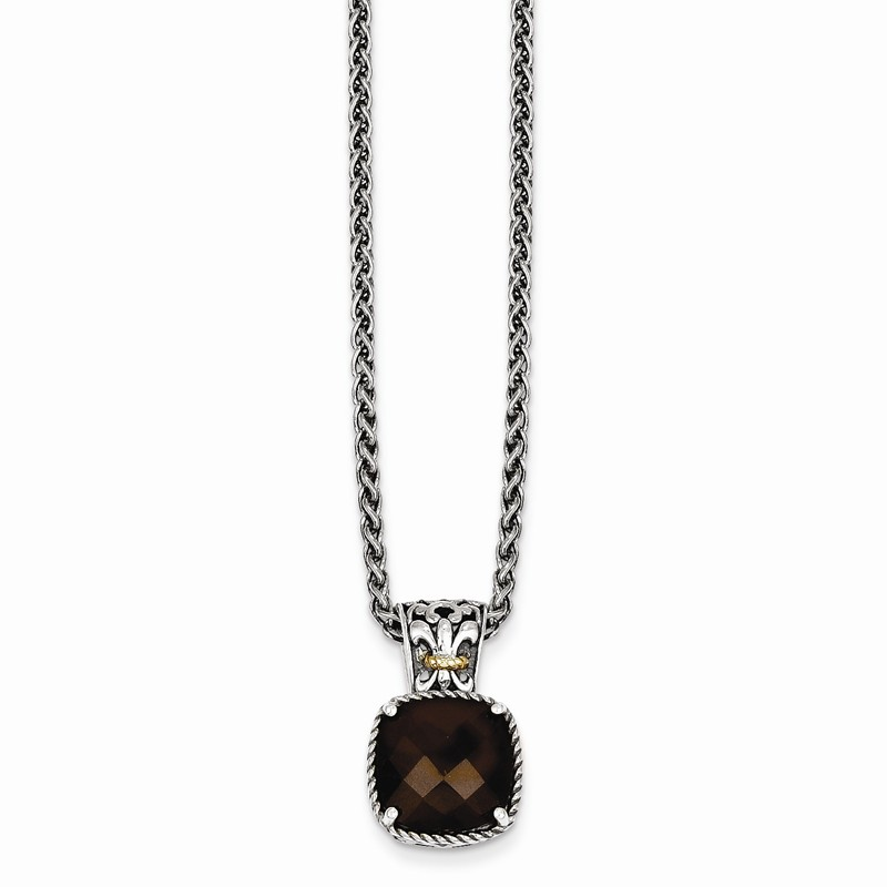 Jewelry Necklaces Gemstone Sterling Silver with 14k Lemon Quartz Necklace