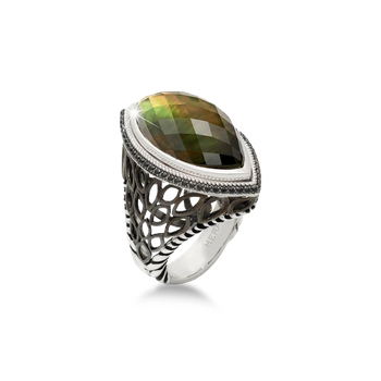 Paradise Mini Signature Silver Ring