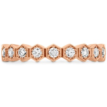 0.62 ctw. HOF Hex Diamond Eternity Band