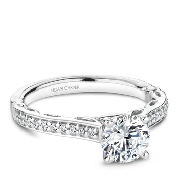 Noam Carver Regal Engagement Ring B161-02A