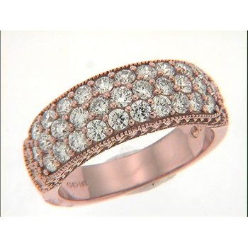 Rose Gold Daimond Band
