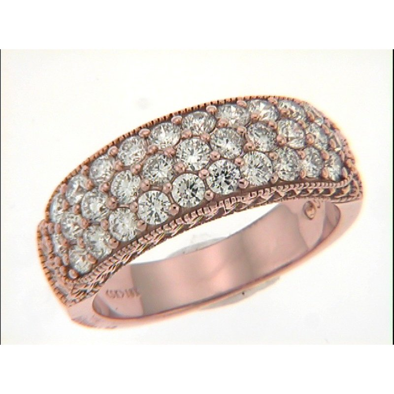 S. Kashi & Sons Bridal Rose Gold Daimond Band