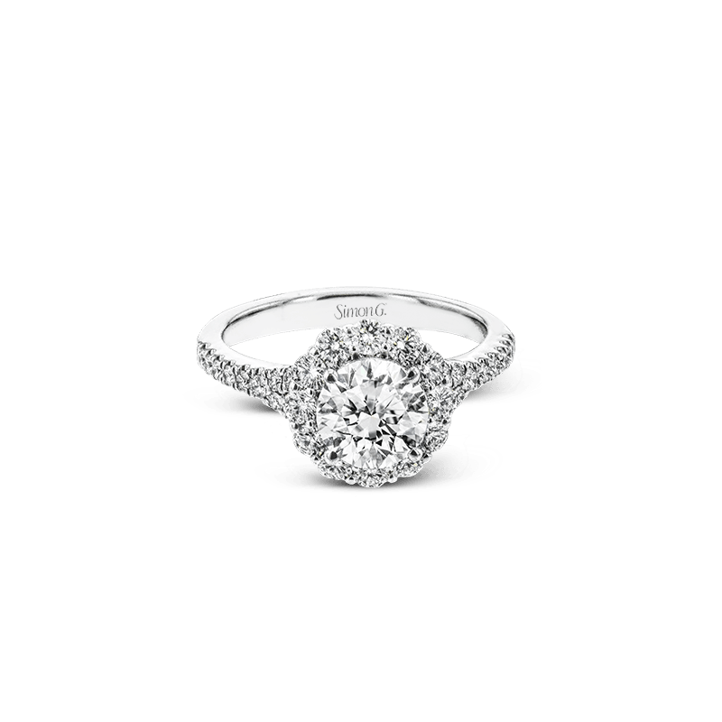Simon G LR2696 ENGAGEMENT RING