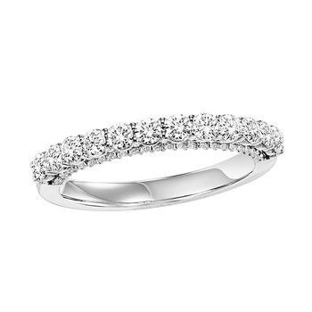 14K Diamond Matching Band 3/4 ctw