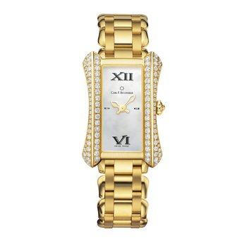 Alacria Queen 18KYG Mother of Pearl 1.6ctw Diamond Womens Watch